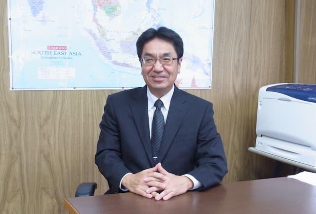 代表取締役社長 中村 壽昭