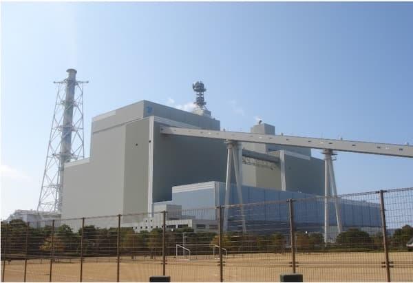 火力発電所排煙脱硫装置
