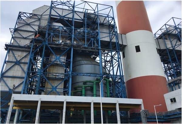 排煙脱硫装置吸収塔、ダクト