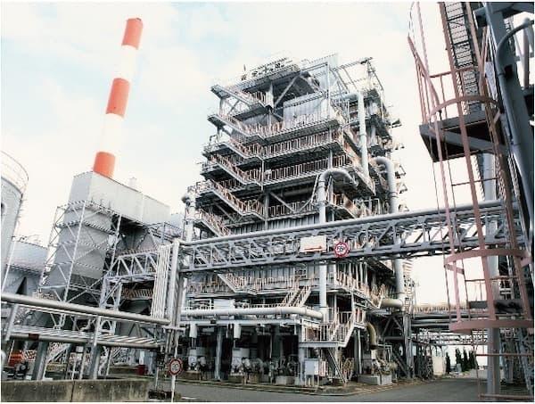 火力発電所排煙脱硫装置 画像