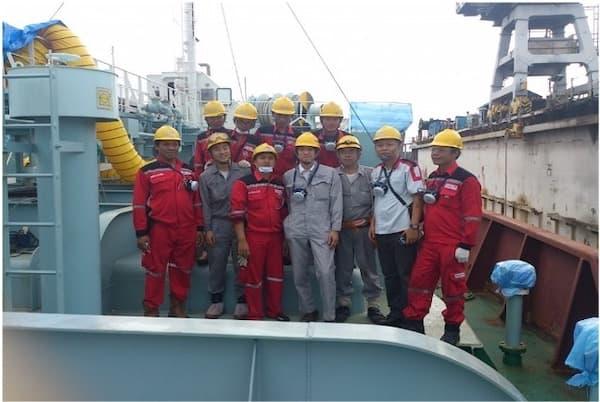 海外パートナー企業での施工事例 インドネシア