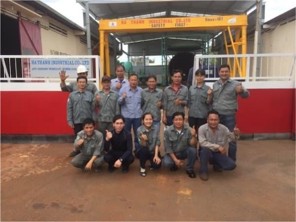 海外パートナー企業での施工事例 ベトナム