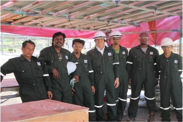 海外パートナー企業での施工事例 マレーシア