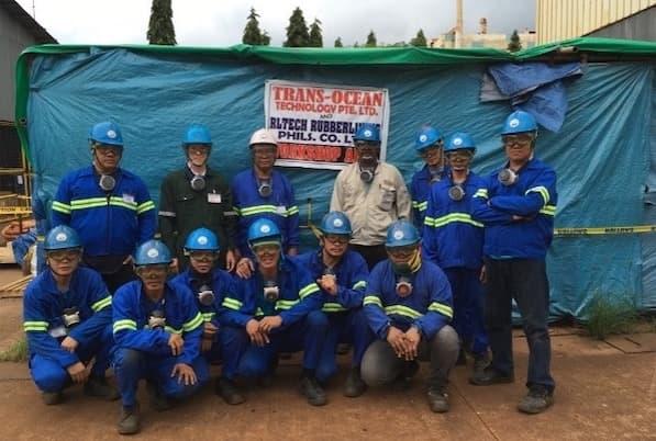 海外パートナー企業での施工事例 フィリピン